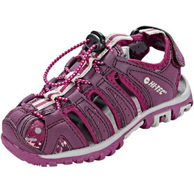 Hi-Tec Cove Sandals Kids boxed grapewine/amaranth/boysenberry